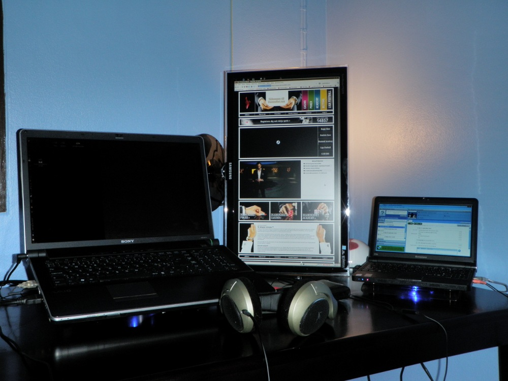 Vertical dual screen setup with XRandR and Compiz